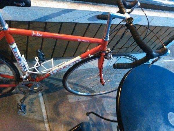 Red Vintage Lemond Tourmalet Reynolds 853 Steel Road Bicycle to get ...