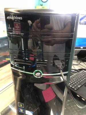 Emachine desktop computer for Sale in San Diego, CA