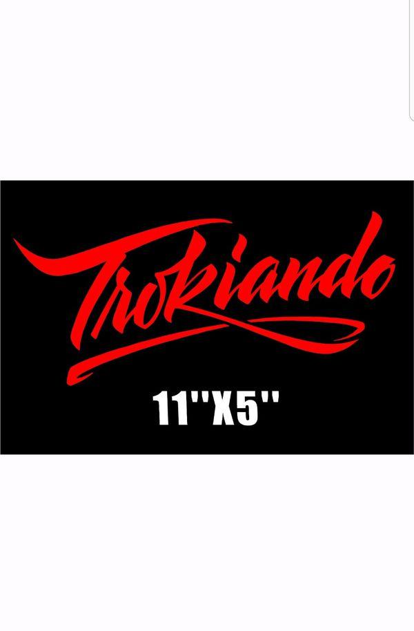 Trokiando vinyl decal arts crafts in north las vegas nv offerup