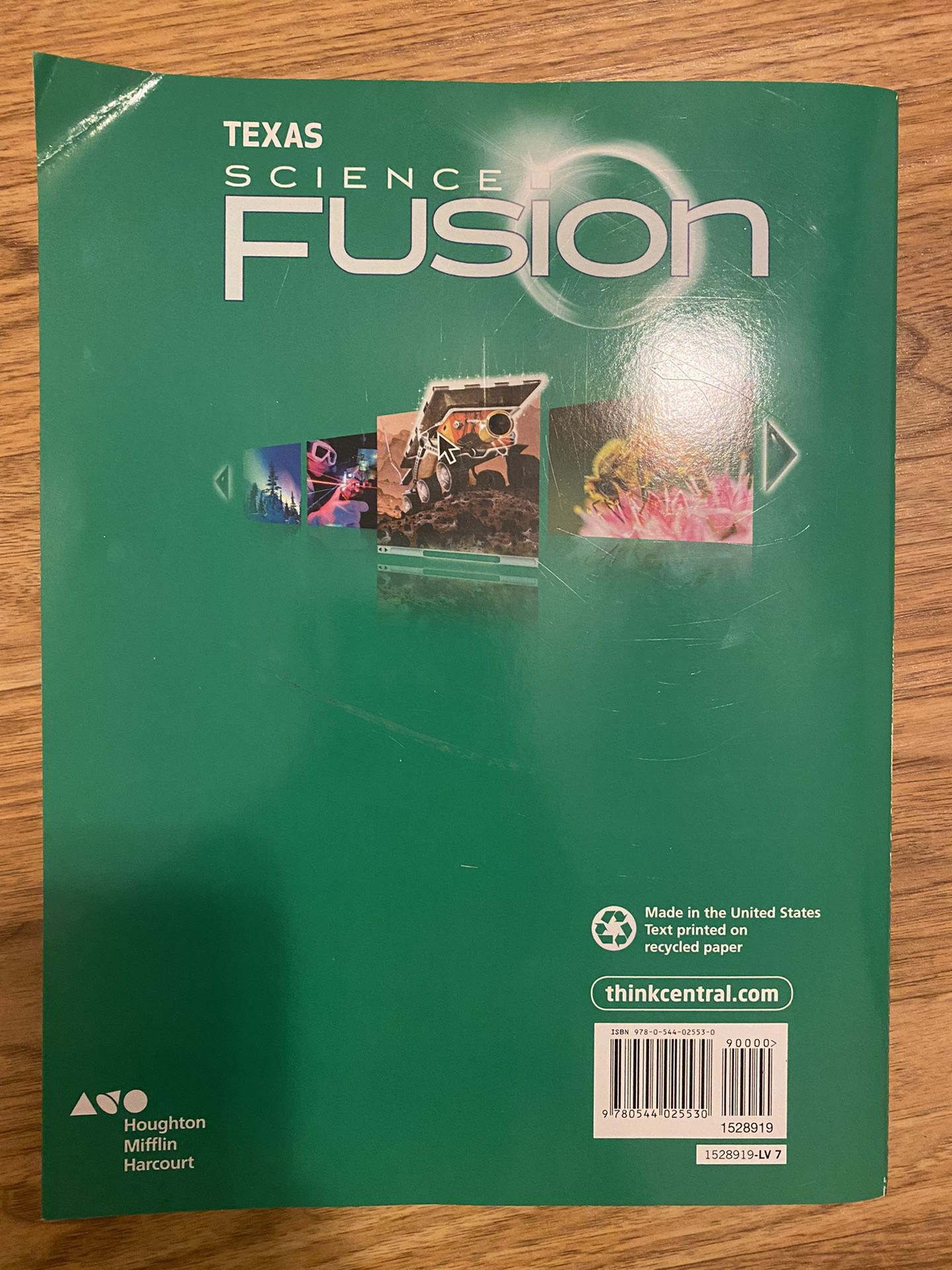 Texas Science Fusion 7th Grade
