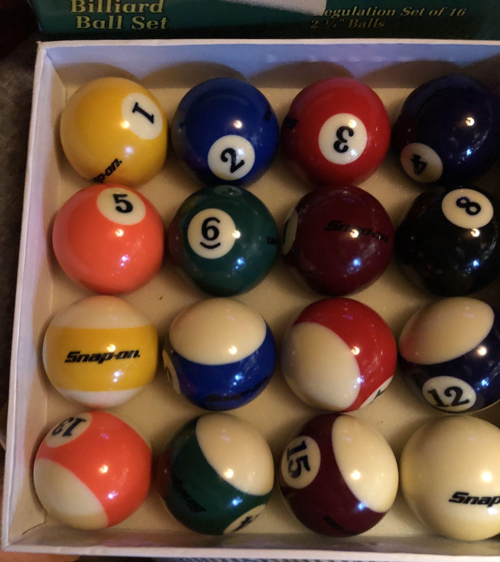 Billiards Set Brand New $25