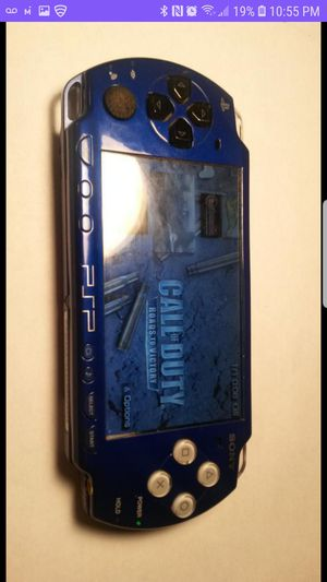 Photo PSP 2000 Blue 200+Games 16gb/Charger