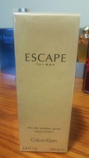 Autentic escape calvin Klein for men 3.4fl 10pml for Sale in Silver Spring, MD