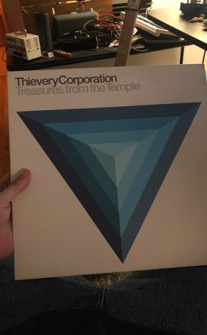 THIEVERY CORPORATION TREASURES FROM THE TEMPLE VINYL 2 LP SET for Sale in Nashville, TN