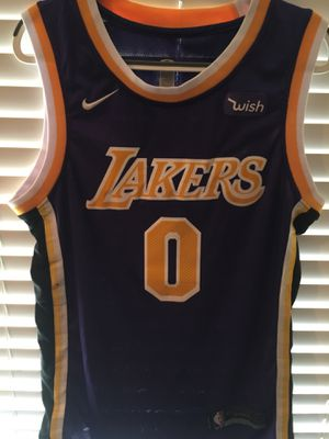 bef342ed989 Los Angeles Lakers Kyle Kuzma Jersey Purple  0 NBA Basketball Kuz Lakeshow  Nike for Sale