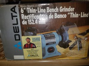Peachy Delta 6 Inch Thin Line Bench Grinder Model 23 660 For Sale Dailytribune Chair Design For Home Dailytribuneorg