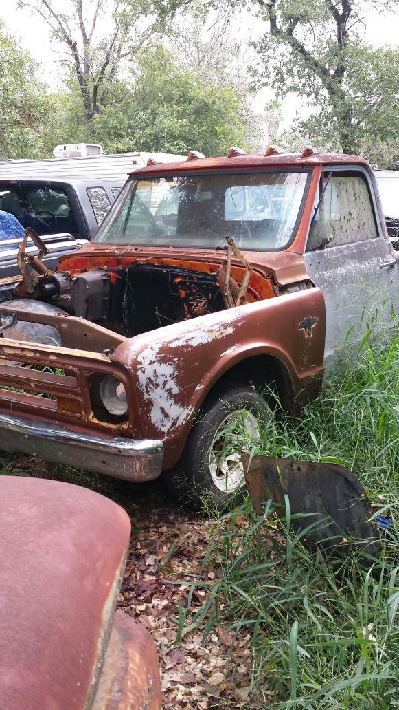 67 CHEVY SHORT BED TRUCK WITH CLEAR TEXAS TITLE FOR SALE OR TRADE ...