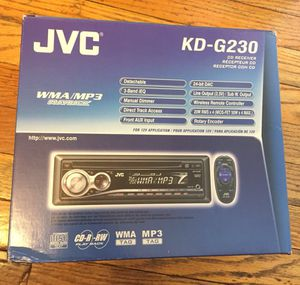 New jvc car stereo radio cd player $65 for Sale in Alexandria, VA