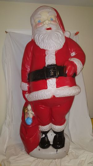 Extra Tall Santa Blow Mold Vintage Large for Sale in Cary, NC