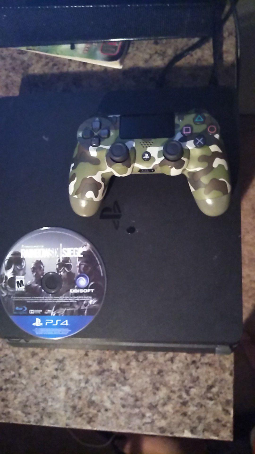 PS4 slime come with rainbow six siege