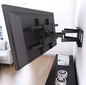 Brand new tv wall mounts flat tilt and full motion swivel PROFESSIONAL INSTALLATION AT LOW PRICE for Sale in Fort Washington, MD