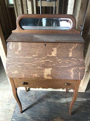 Antique oak desk for Sale in Silver Spring, MD