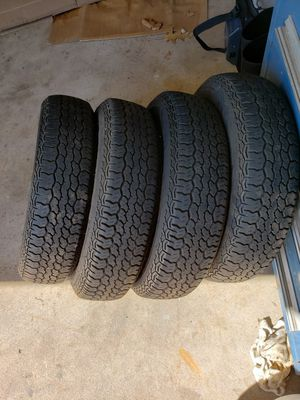 Photo Used tires for Mg Midget or small car 145 R13