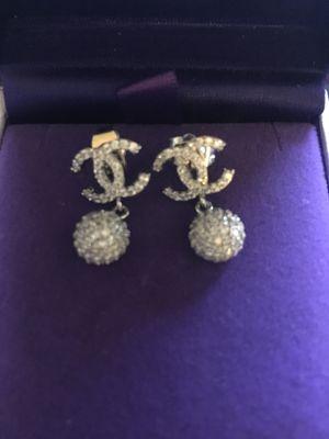 Chanel mini drop new ball dangle earrings for Sale in Orlando, FL