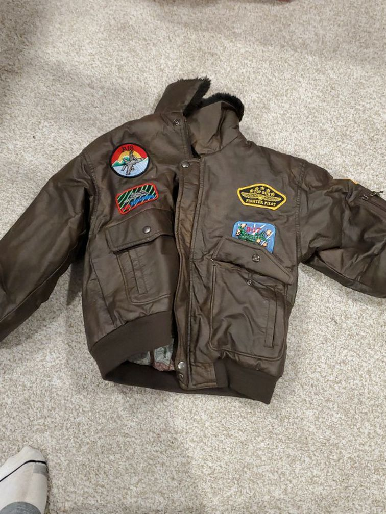 Kids Fighter Pilot Jacket