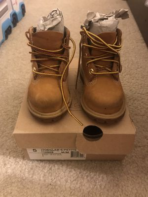 Timberland boots size 5 toddlers for Sale in Fairfax, VA