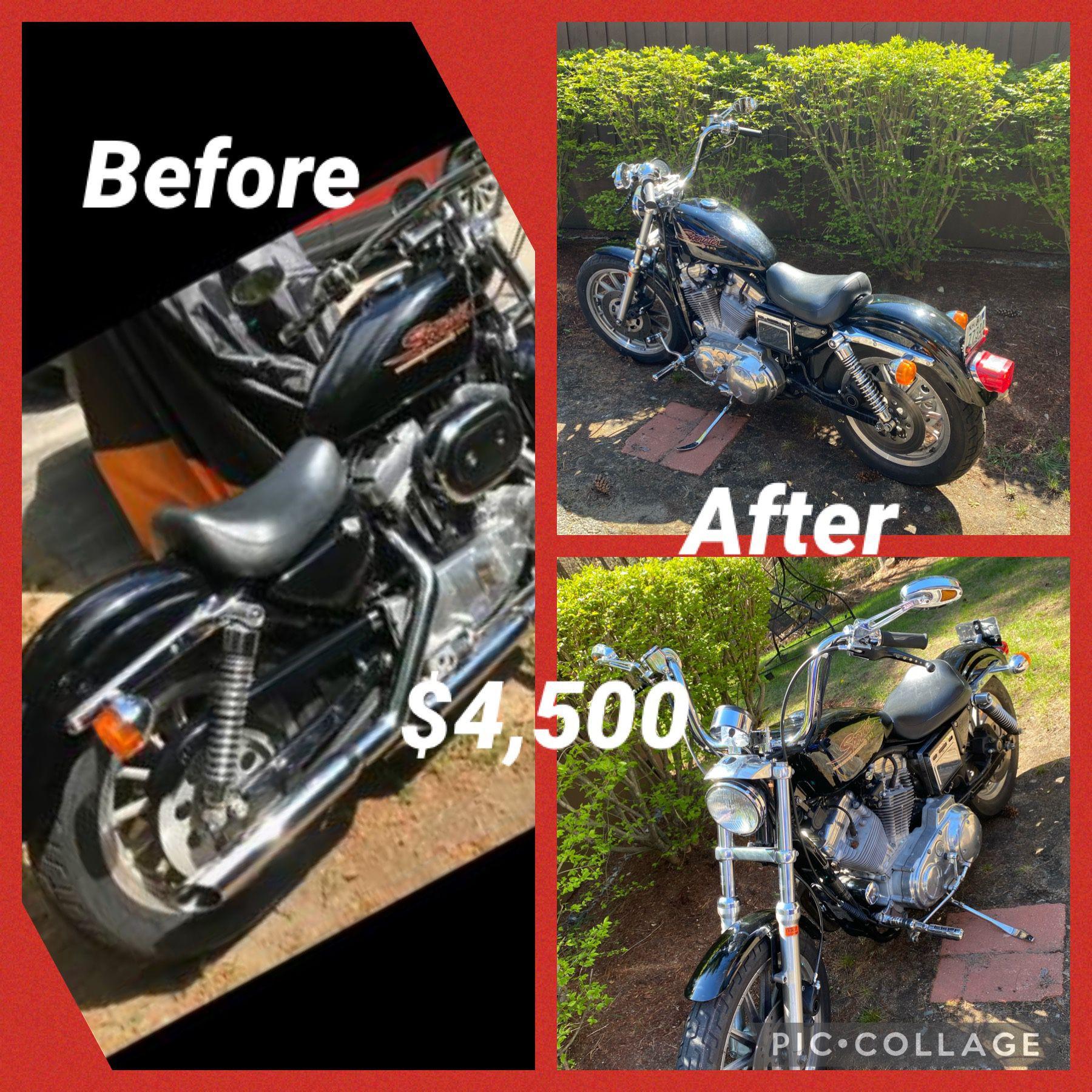 Photo Harley Sportster 883 Year 1999