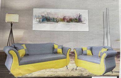 Sofa and love seat 2 PCS Thumbnail