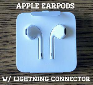 Genuine New Apple Headphones (Lightning connector) for Sale in Falls Church, VA