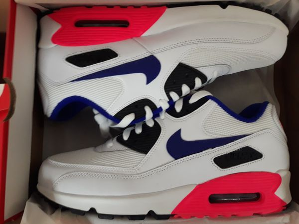 best sneakers 61489 53048 Clothing, Shoes   Accessories Nike Air Max 90 Essential 537384-136  Ultramarine Pack Solar Red Infrared New!