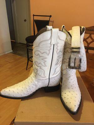 Bota De Avestruz Blancas For Sale In Goodyear Az Offerup