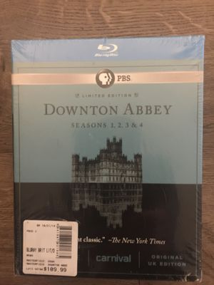 Downton Abbey Blu-ray DVD boxed set - Seasons 1,2,3, and 4 for Sale in Rockville, MD
