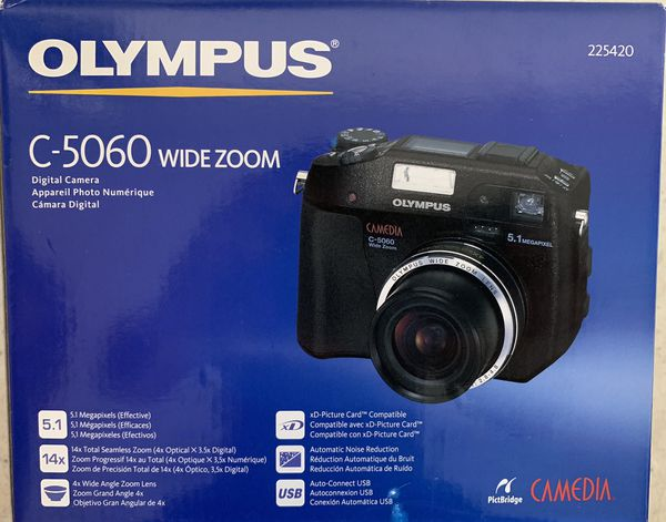 Olympus C-5060 Wide Zoom for Sale in La Porte, TX - OfferUp