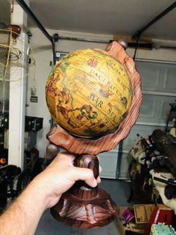 "Vintage Spanish Globe 12"" Thumbnail"