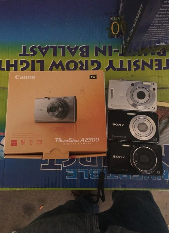 Cameras from 40$ great condition