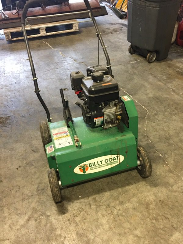 Power Rake For Sale >> Billy Goat Power Rake Dethatcher For Sale In St Louis Mo Offerup