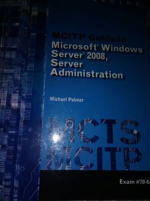 MCITP computer guide to Microsoft Windows Server 2008 for Sale in Austin, TX