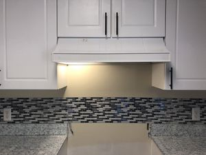 Under Cabinet Range Hood with Light - White for Sale in Abingdon, MD
