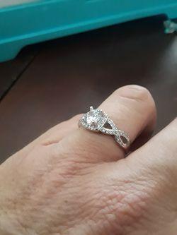 Sterling silver cz Thumbnail