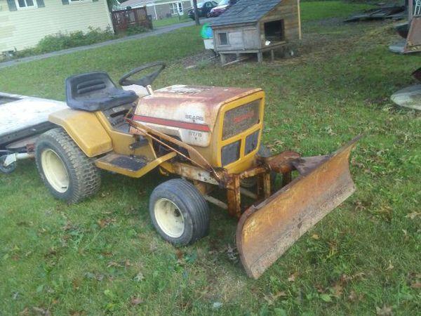 1976 ST8 Sears lawn & garden tractor (Cars & Trucks) in Oberlin, OH ...