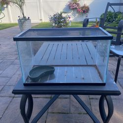 10 Gallon Fish Tank With Bowl And Net Top Thumbnail