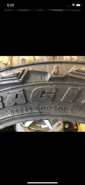 Photo Brand new 33x12.50x20 federal mud tires