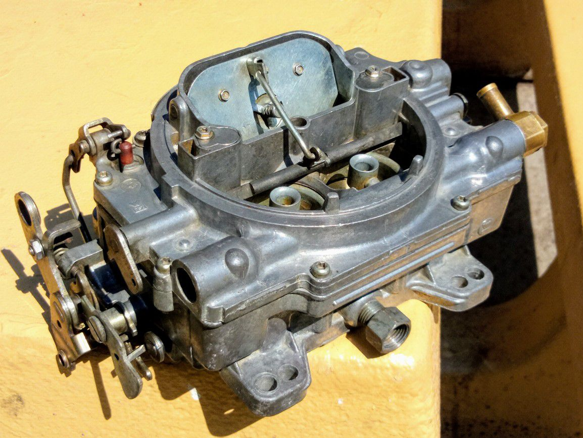 "Carter ""Competition Series"" Carburetor"