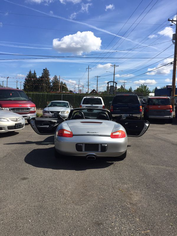 2000 Porsche Boxster Roadster For Sale In Portland Or