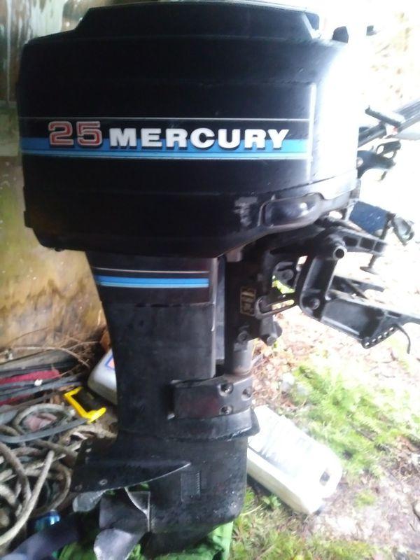 Mercury 25 Hp Outboard Short Shaft