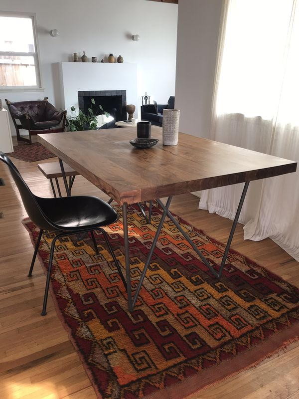 Cb2 Dylan Dining Table Bench