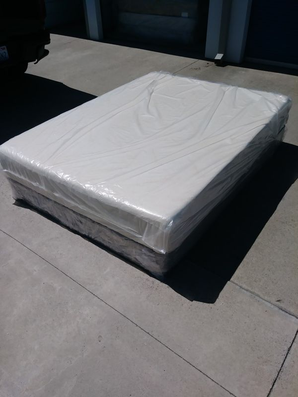 tempurpedicqueen size tempurpedic mattress and boxspring for sale in manteca ca offerup - Queen Size Tempurpedic Mattress