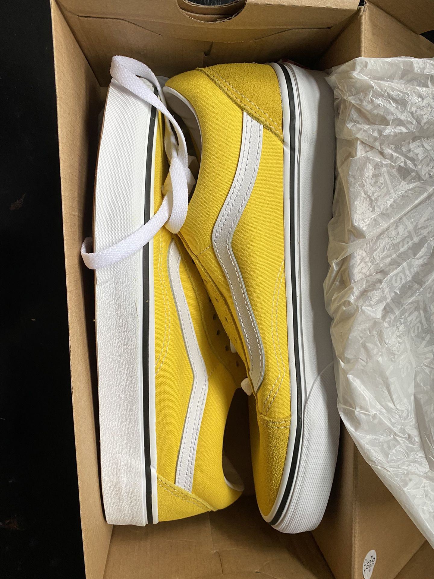 New Vans sneakers