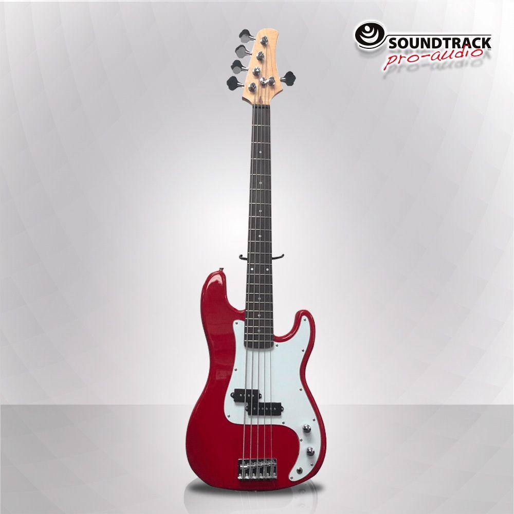 Cobra 5 Red. 5 String Base .2 Pick-up.Colors(Red,Black,Sunburst)