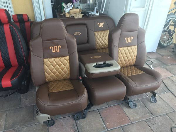 ford king ranch f250 f350 seats asientos for sale in miami. Black Bedroom Furniture Sets. Home Design Ideas