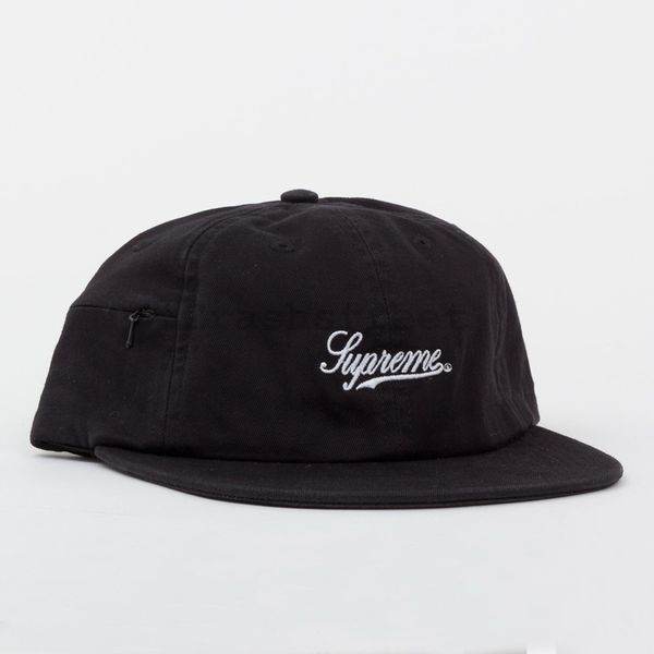 SUPREME SCRIPT LOGO HAT WITH POCKET for Sale in New York aef24e85a71