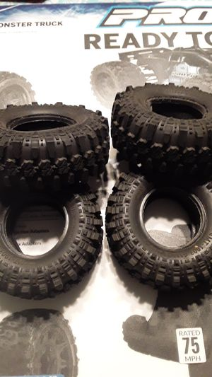 Photo G-Made 1.9 rc rock crawler trail truck tires