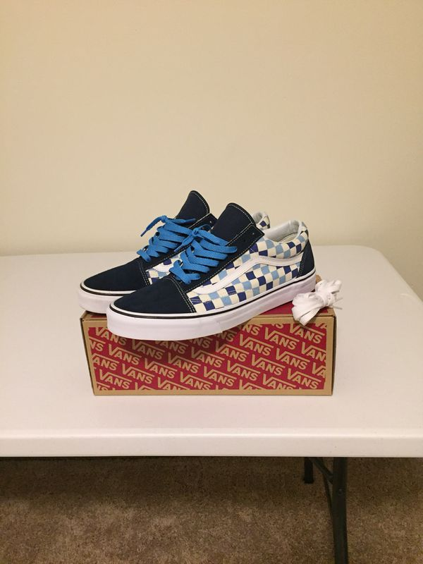 Brand new old skool checkerboard vans for Sale in Garner 935b4d476
