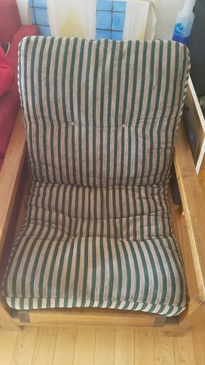Solid Wood Frame Futon Chair For In Baltimore Md