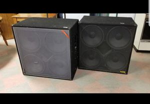 """Set of two 4-15"""" base cabinet speakers for Sale in St. Louis, MO"""