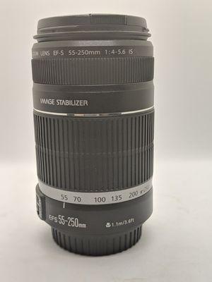 Canon EF-S 55-250mm II IS for Sale in Glendale, AZ